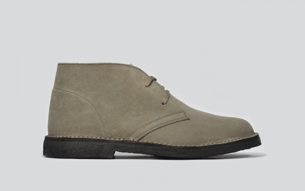 Chukka in suede